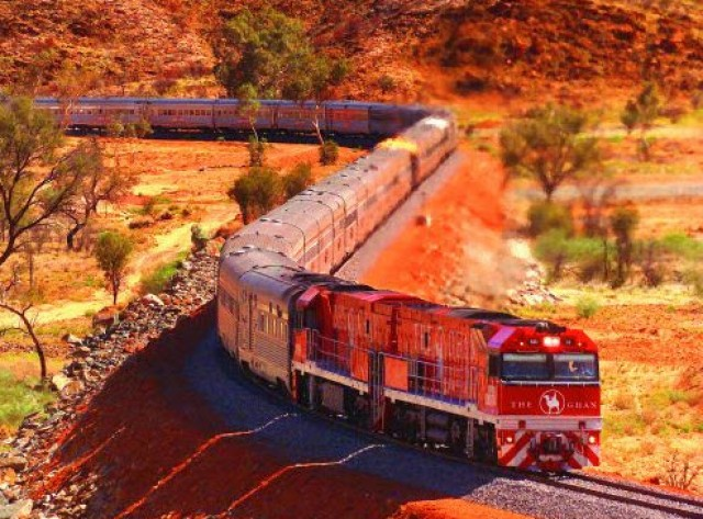 Epic Australia Rail Journeys