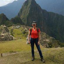 Sarah in Machu Picchu